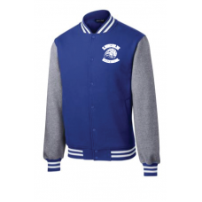 LMS Embroidered Lionhead Letterman Jacket - Adult