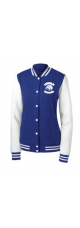 LMS Embroidered Lionhead Letterman Jacket - Ladies