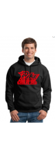 LMS-PIKE Basketball Sweatshirt with Hood- Unisex