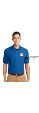 LMS Lionhead Embroidered Polo Pique Shirt - Adult