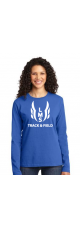LMS Track & Field Long Sleeve T-Shirt - Ladies